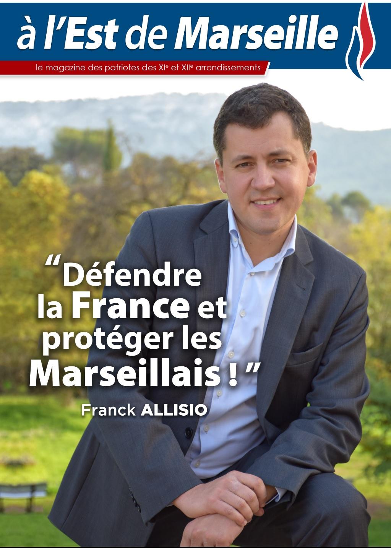 Le magazine des patriotes des XIe et XIIe arrondissements de Marseille est arrivé !